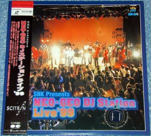 Neo•Geo DJ Station Live \'99, versão em LD